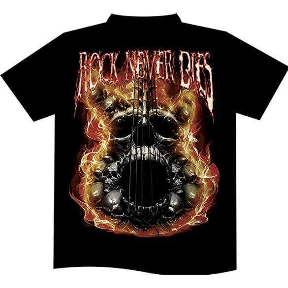 Rock Never Dies T-shirt