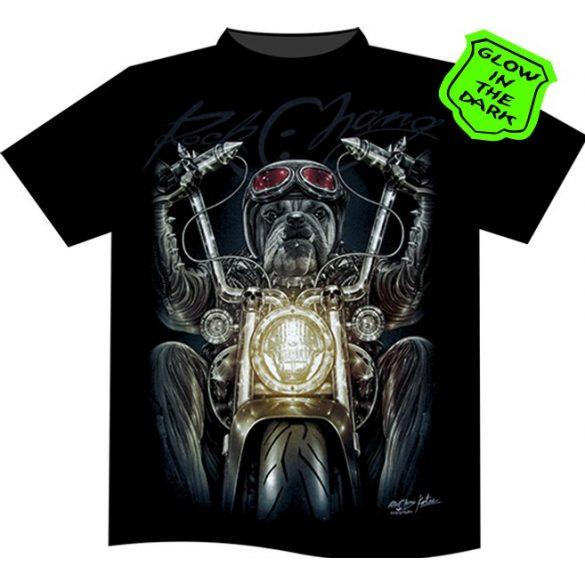 Bulldog Rider T-shirt