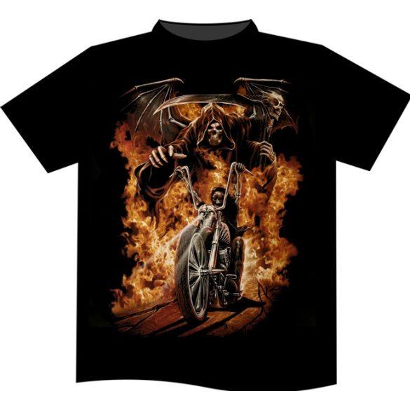 Burning Rider T-shirt