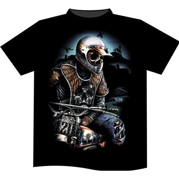Skeleton Racer póló