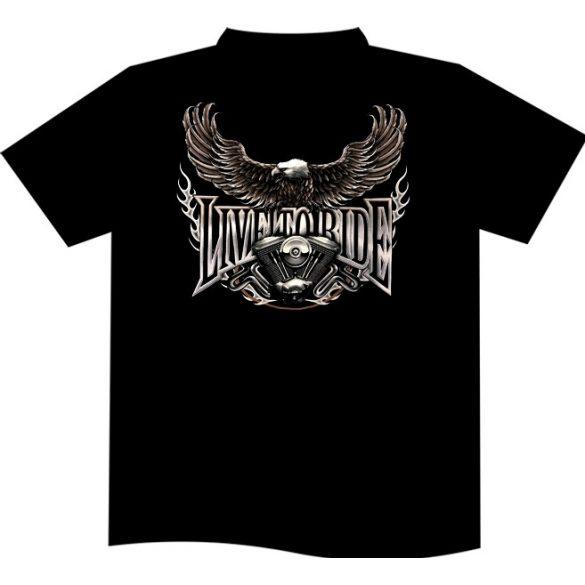Live To Ride Night T-shirt