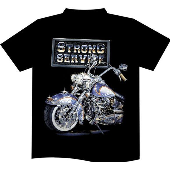Strong Service póló