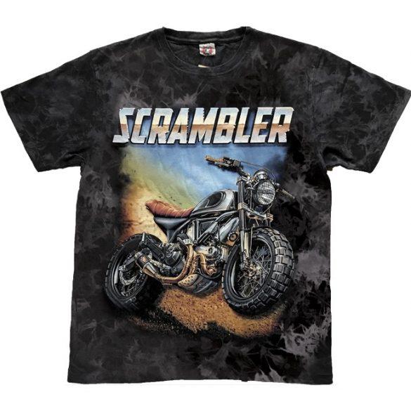 Vintage Scrambler póló