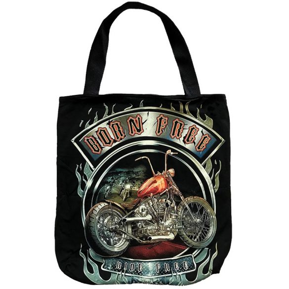 Born Free Ride Free tote bag