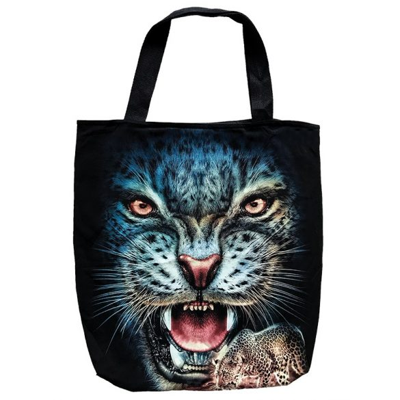 Blue Panther tote bag