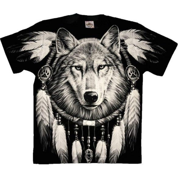 Wolf and Dreamcatcher póló