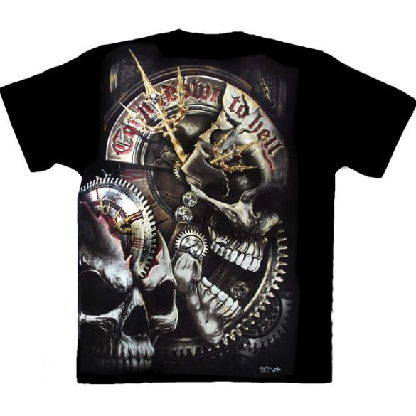 Clockwork Skull T-shirt