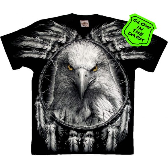 Eagle and Dreamcatcher póló