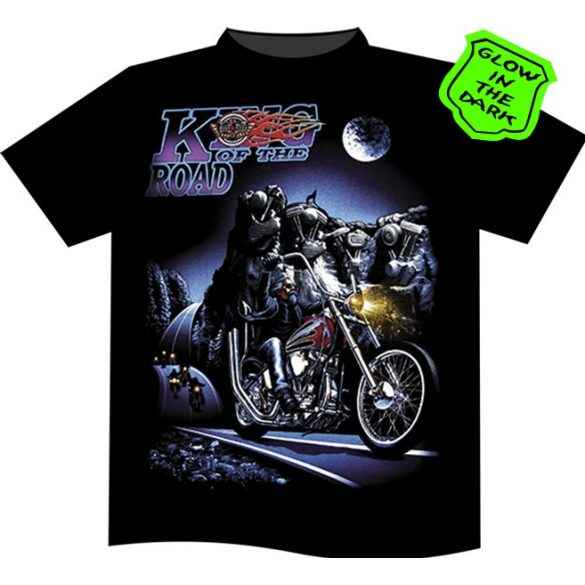 King of The Road Blue T-shirt