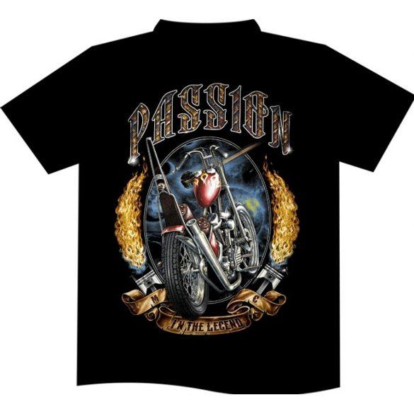 Passion In The Legend Bike póló