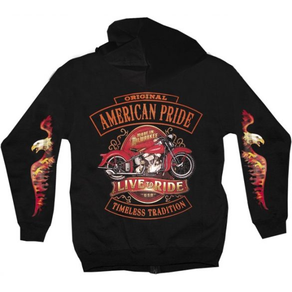 Live and Let Ride pullover