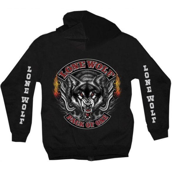 Lone Wolf pulóver