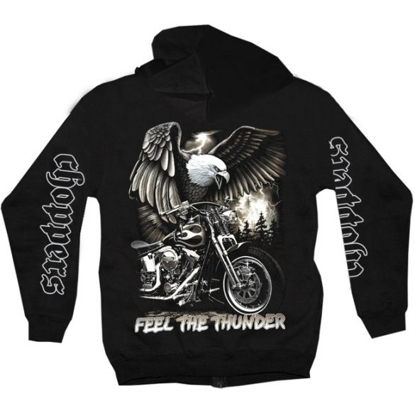 Feel The Thunder pullover