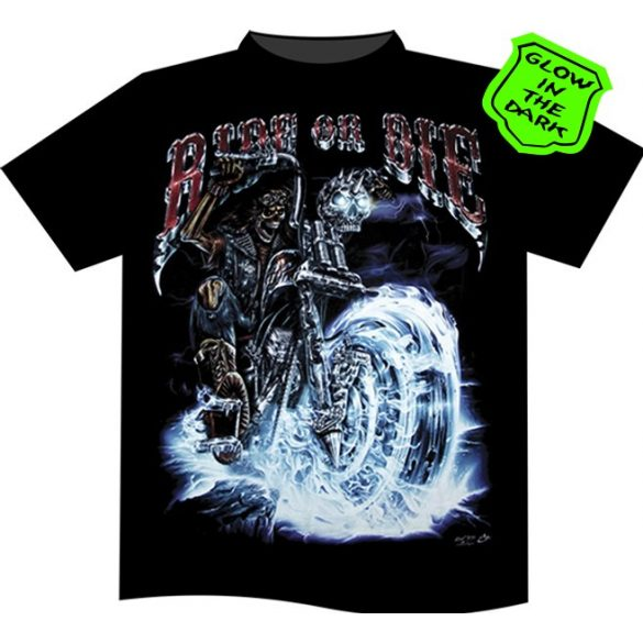 Ride or Die Blue T-shirt