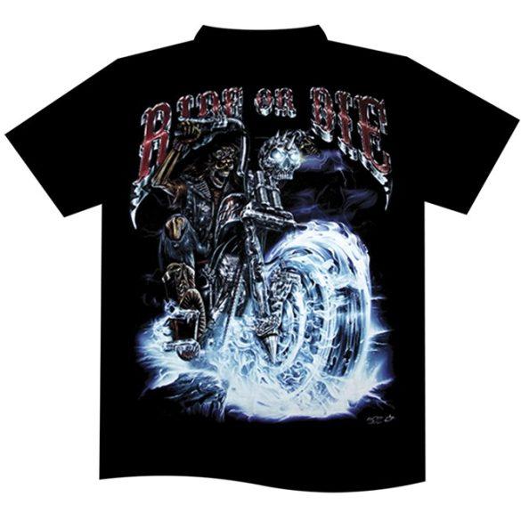 Ride or Die Blue póló