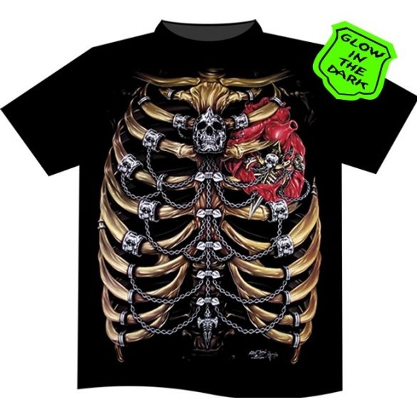 Skeleton Ribs T-shirt