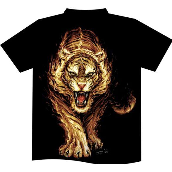 Flaming Tiger T-shirt