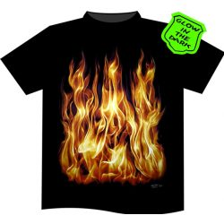 Burning Fire póló