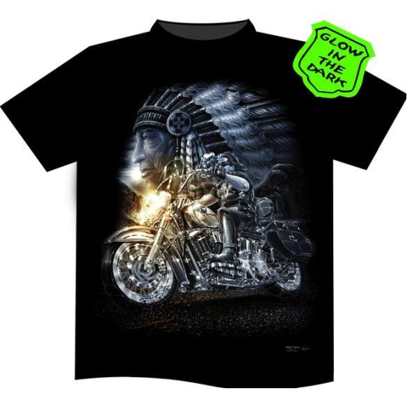 Indian Spirit Rider póló