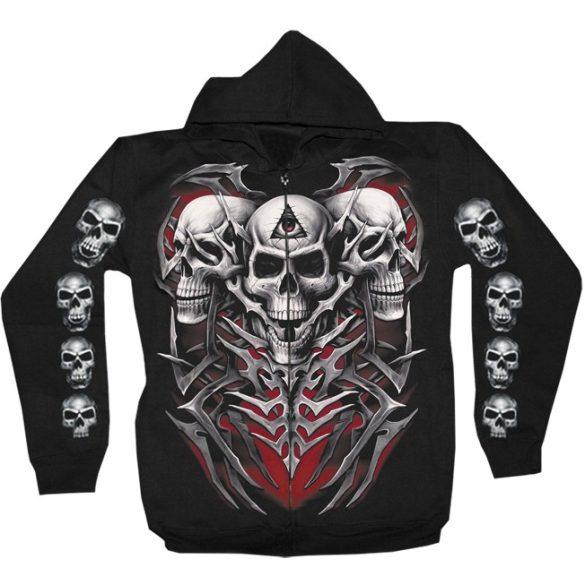 Three Skulls pulóver