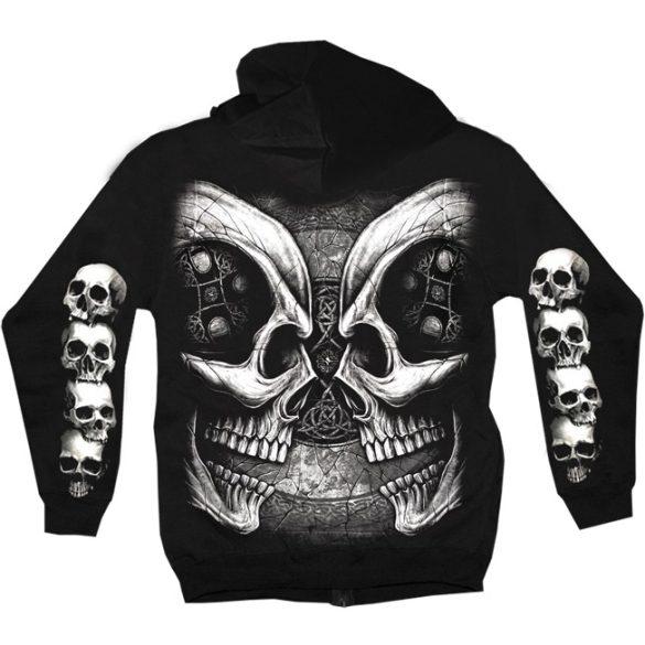 Facing Skulls pulóver
