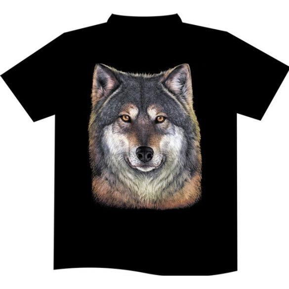 Wolf Portrait póló