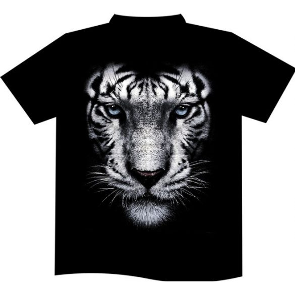 White Tiger Portrait T-shirt