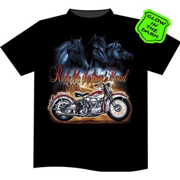Ride Life The Long Road T-shirt