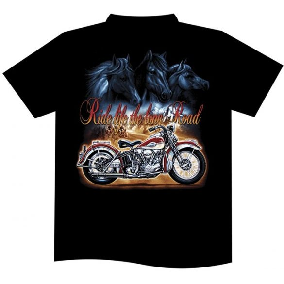 Ride Life The Long Road T-shirt