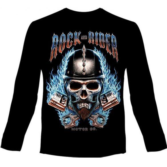 Rock Rider hosszú ujjú póló