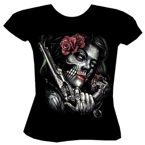Gun Girl póló
